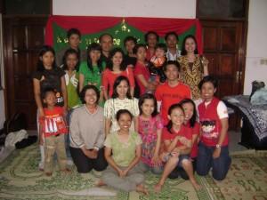 Natal Bersama YLSA Tahun 2008