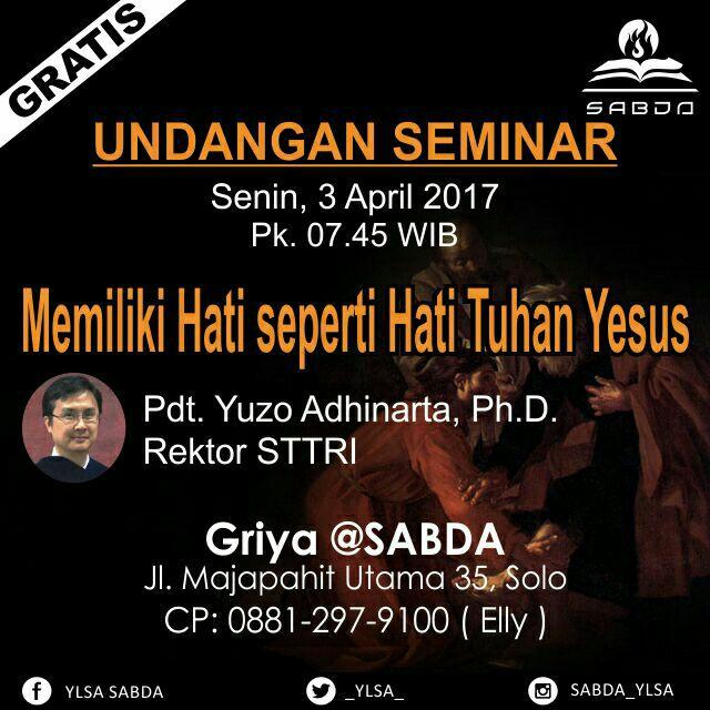 Seminar April1 « Blog SABDA